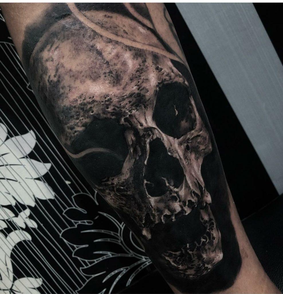 God gold tattoo