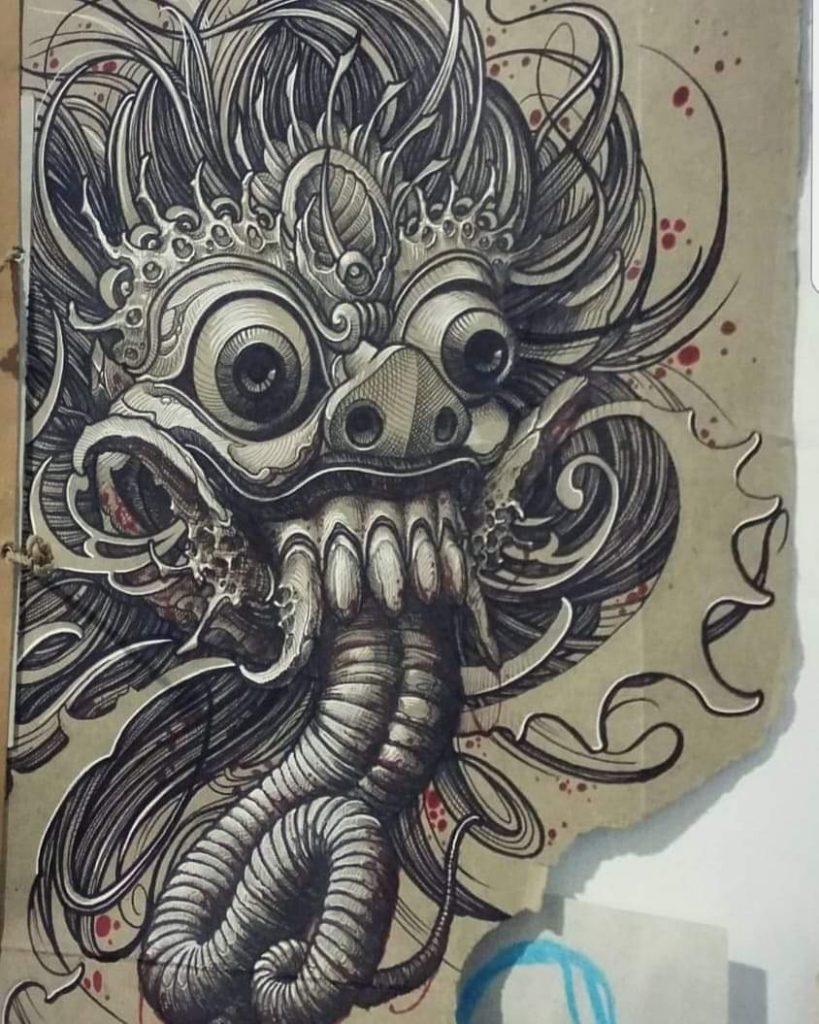 Balinese Tattoo